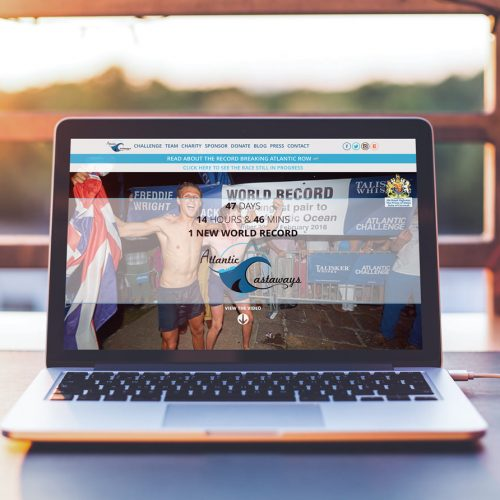 Atlantic Castaways website