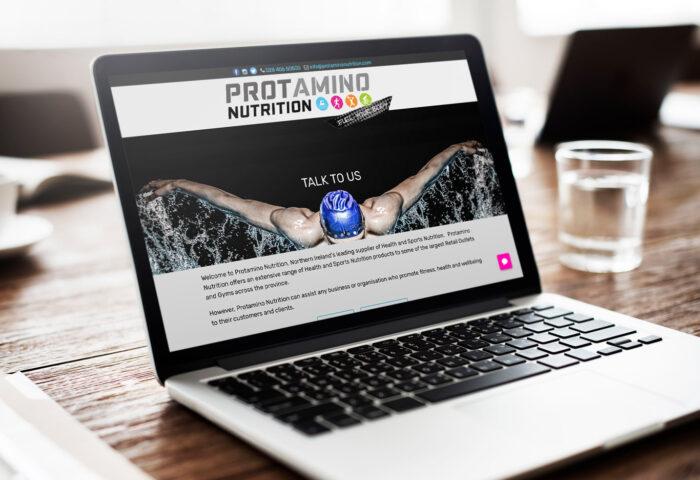 Protamino Nutrition website