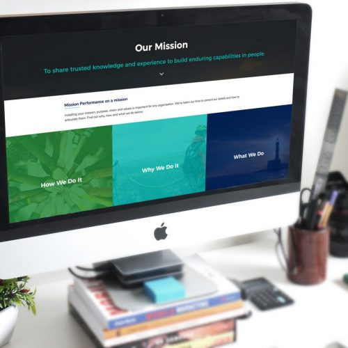 Mission Performance Web Design Hampshire