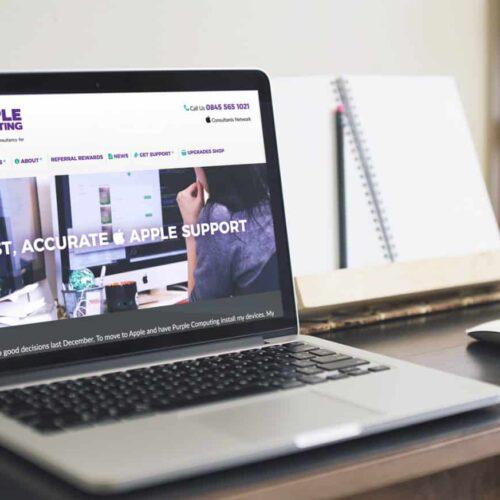 Purple Computing Web Design Hampshire