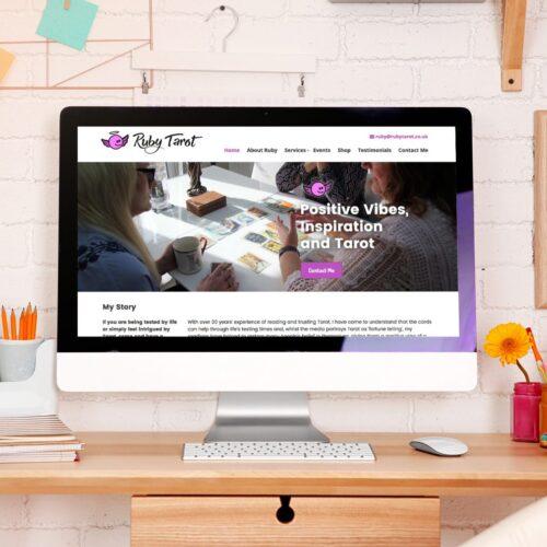 Ruby Tarot Web Design Hampshire
