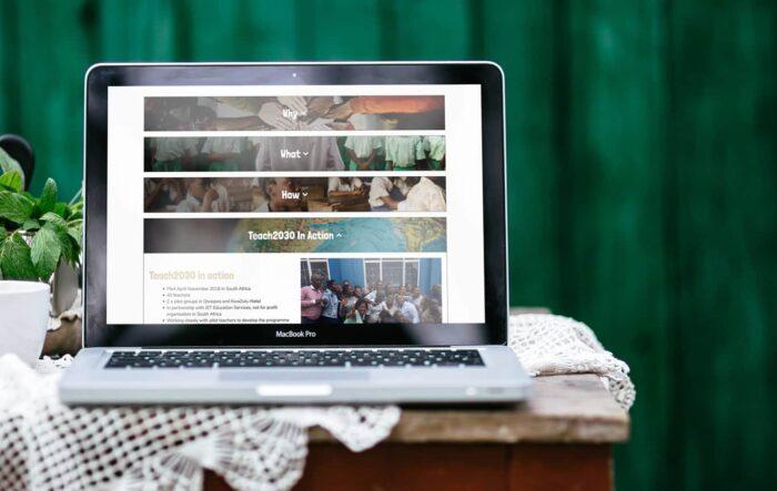 Commonwealth Education Trust Web Design