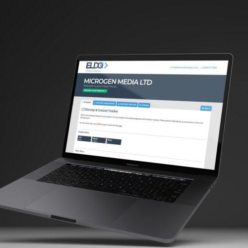 Eldo Web Design Client Portal