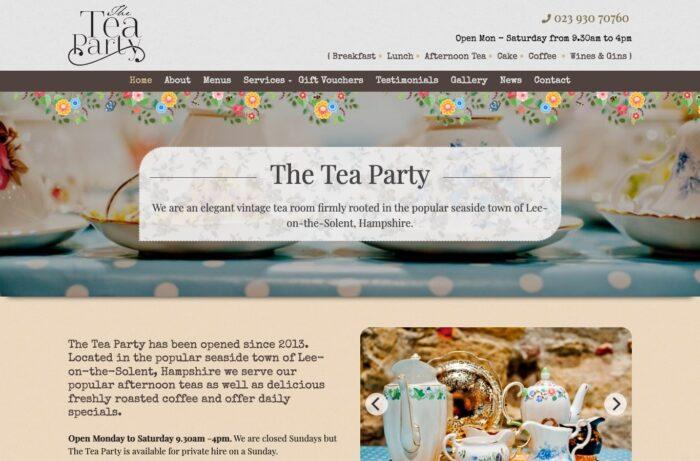 The Tea Party Desktop