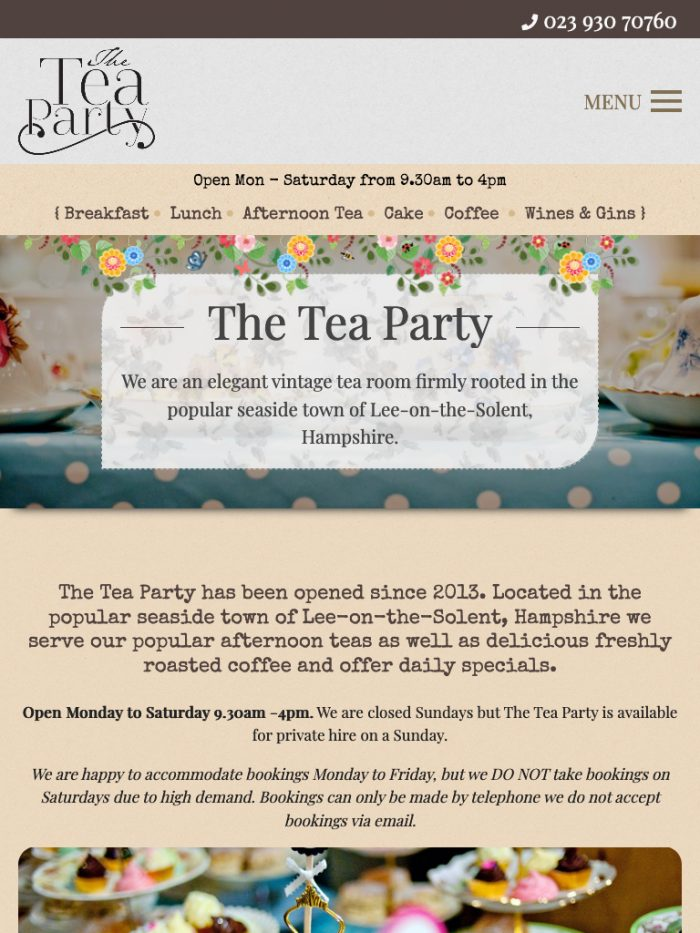 The Tea Party Tablet