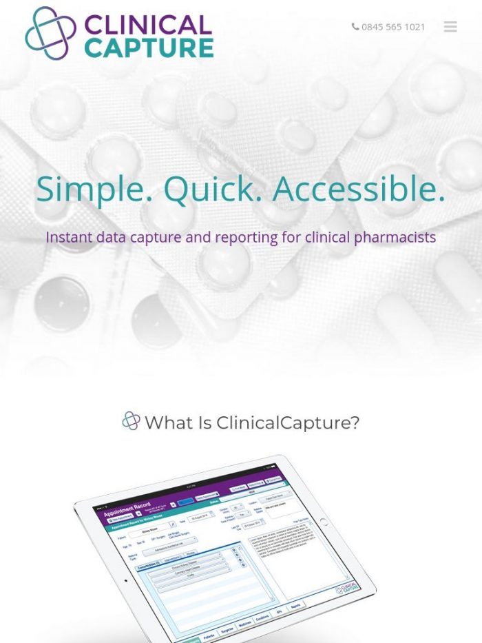 Clinical Capture Tablet