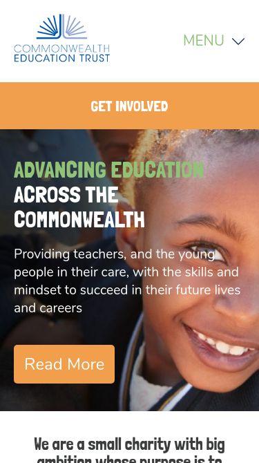 Commonwealth Education Trust Mobile
