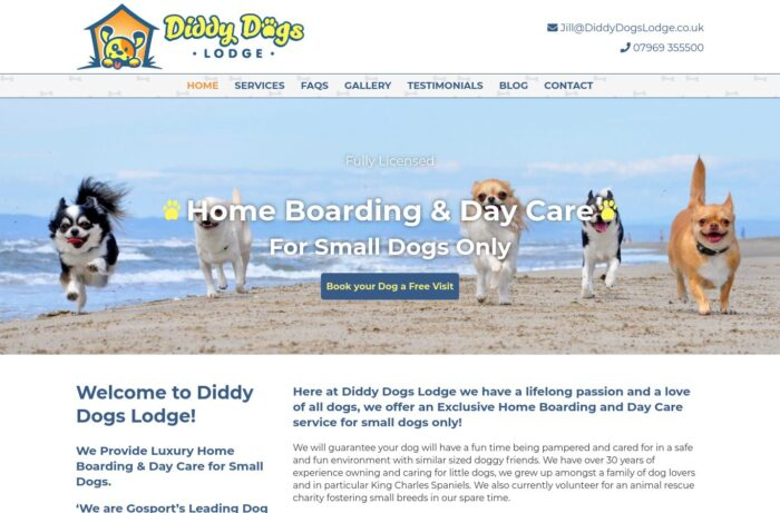 Diddy Dogs Lodge Desktop