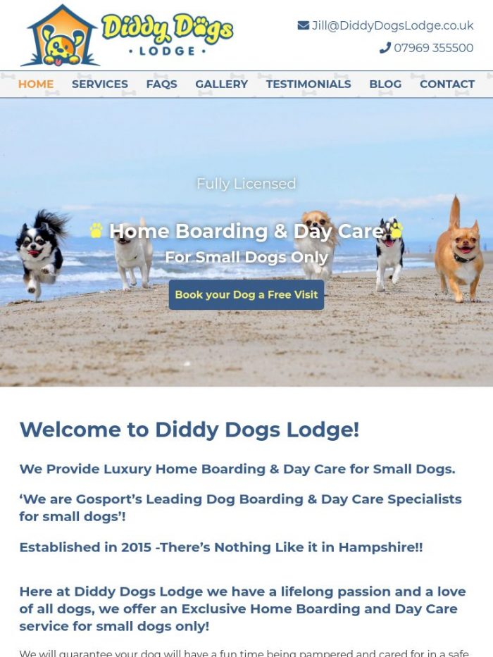 Diddy Dogs Lodge Tablet