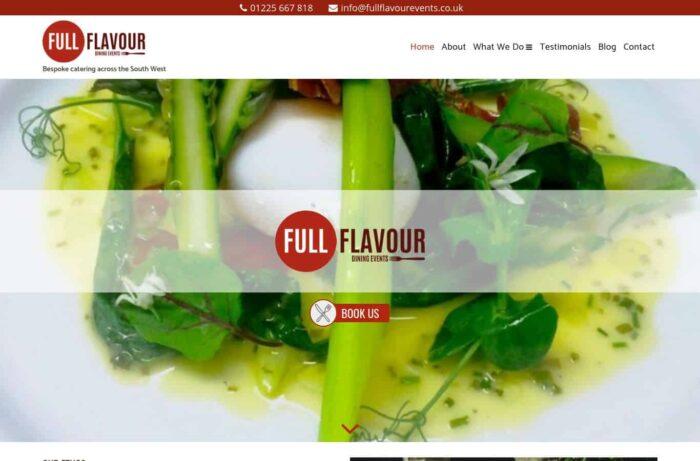 Full Flavour Events Desktop