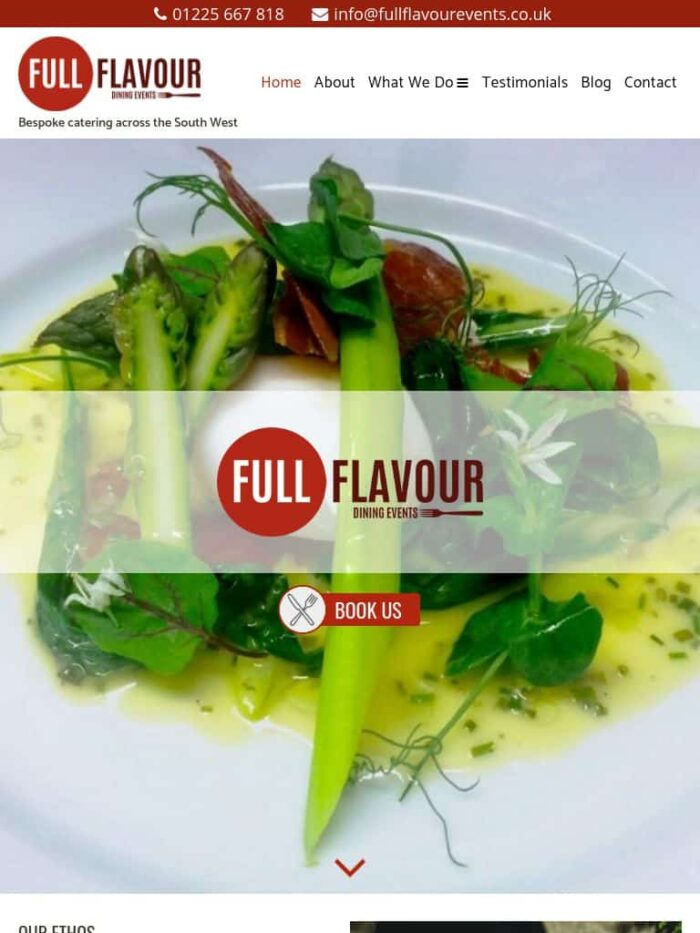 Full Flavour Events Tablet