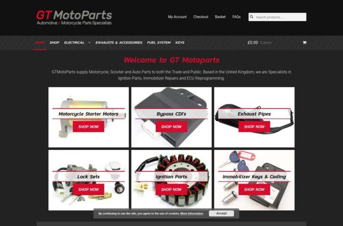 GT Motoparts Desktop