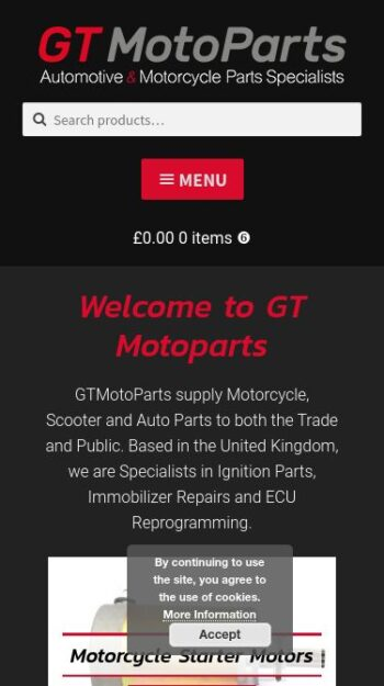 GT Motoparts Mobile