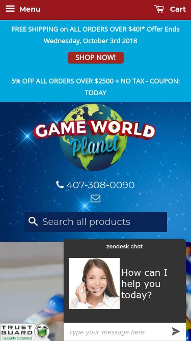 Game World Planet Mobile