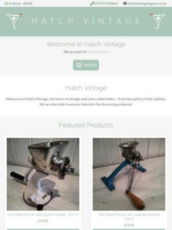 Hatch Vintage Tablet