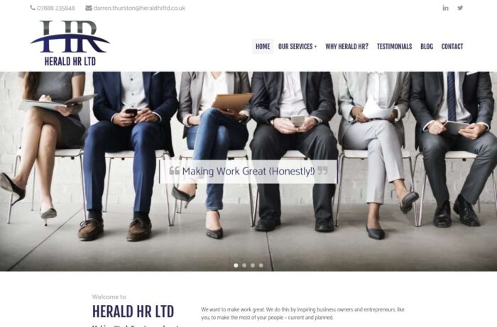 Herald HR Ltd Desktop