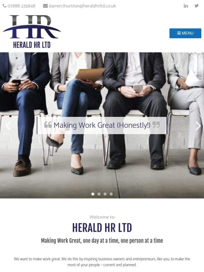 Herald HR Ltd Tablet