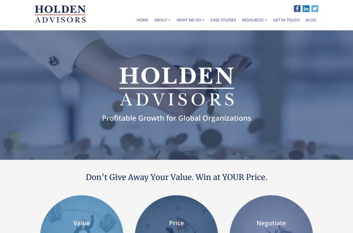 Holden Advisors Desktop