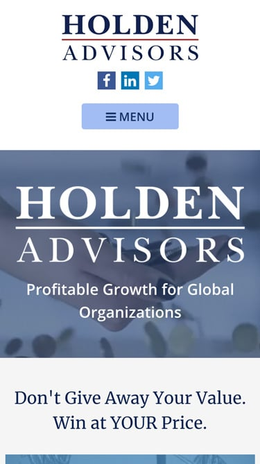 Holden Advisors Mobile