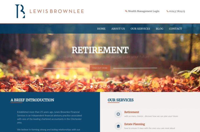 Lewis Brownlee Financial Desktop
