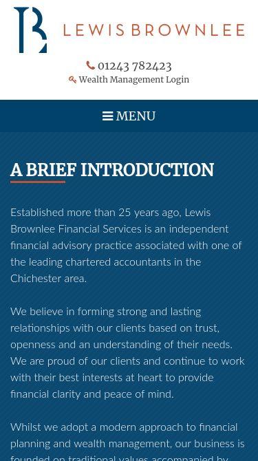 Lewis Brownlee Financial Mobile