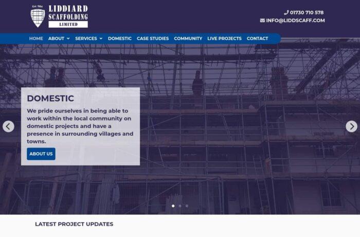 Liddiard Scaffolding Desktop