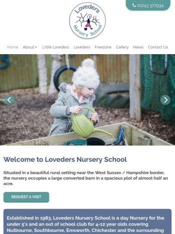 Loveders Nursery School Tablet
