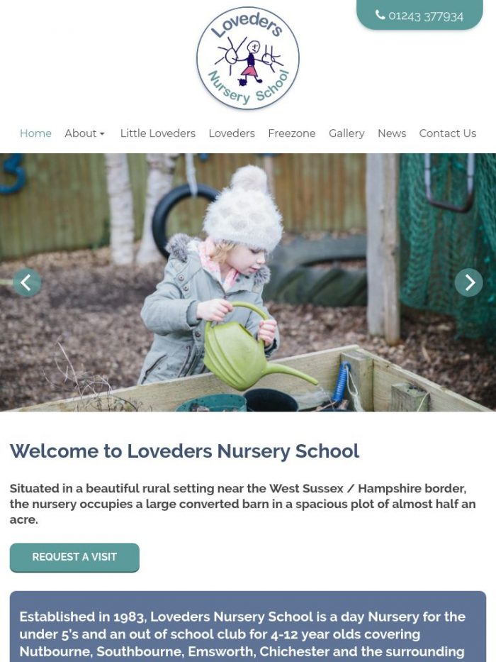 Loveders Nursery School Tablet