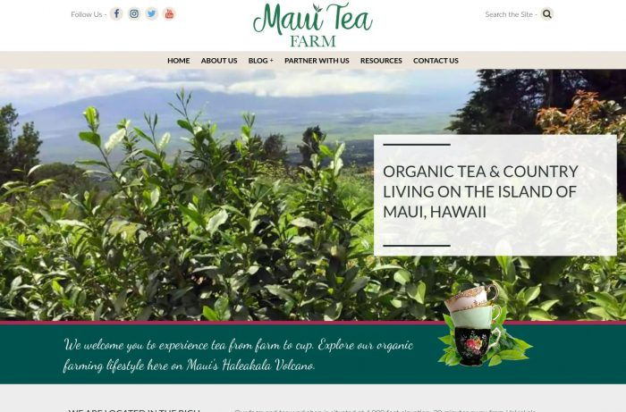 Maui Tea Farm Desktop