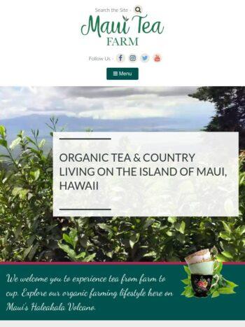 Maui Tea Farm Tablet
