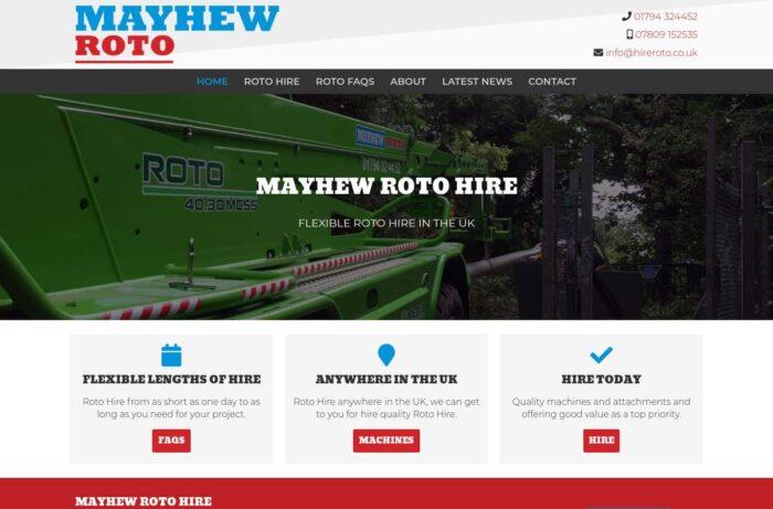 Mayhew Roto Desktop