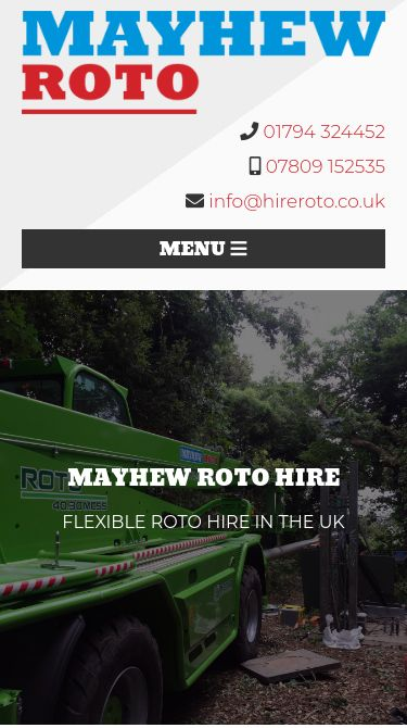 Mayhew Roto Mobile