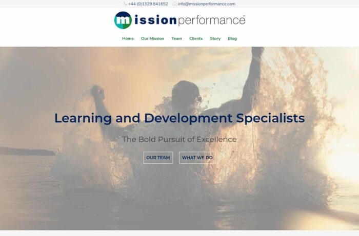 Mission Performance Desktop
