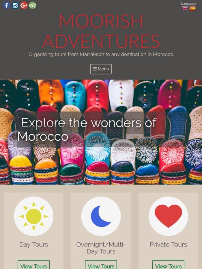 Moorish Adventures Tablet
