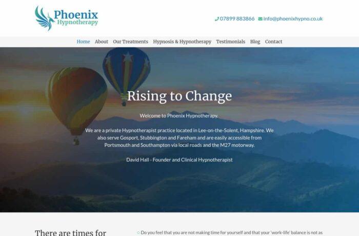 Phoenix Hypnotherapy Desktop