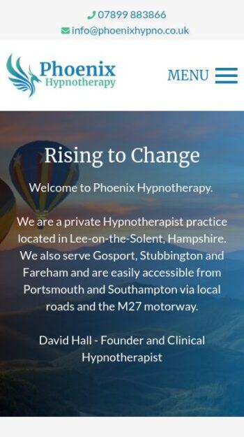 Phoenix Hypnotherapy Mobile