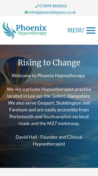 Phoenix Hypnotherapy Mobile
