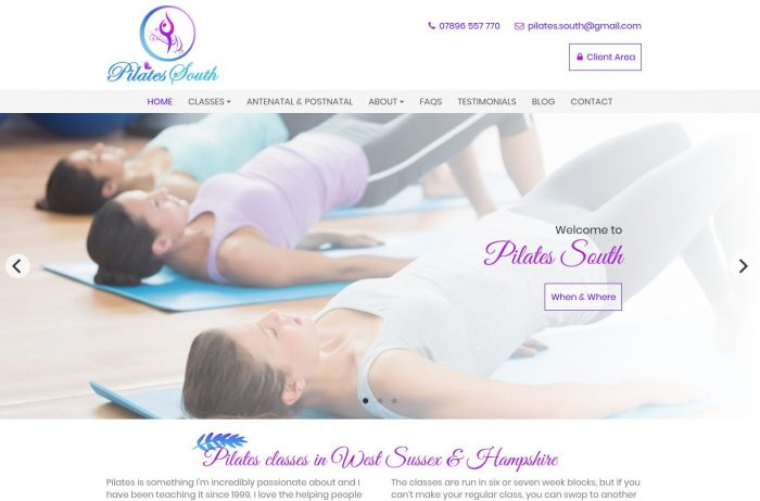 Pilates South Desktop