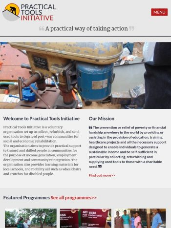 Practical Tools Initiative Tablet