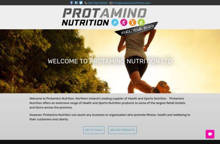 Protamino Nutrition Desktop