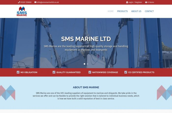 SMS Marine Ltd Desktop