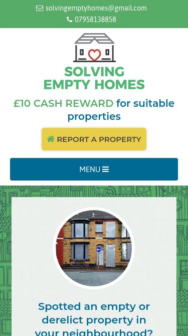 Solving Empty Homes Mobile