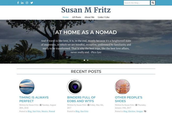 Susan M Fritz Desktop