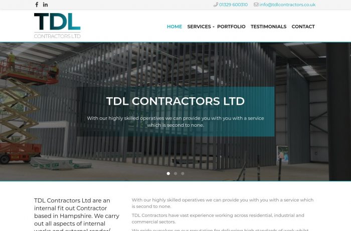 TDL Contractors Ltd Desktop