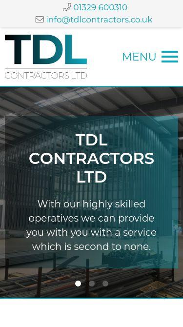 TDL Contractors Ltd Mobile