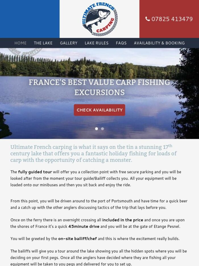 Ultimate French Carping Tablet