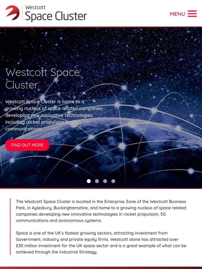 Westcott Space Cluster Tablet