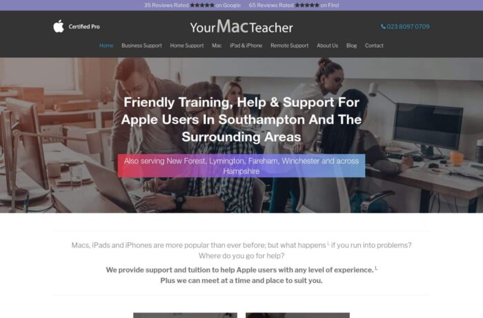 Your Mac Teacher Desktop