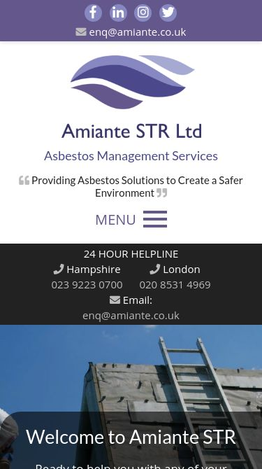 amiante str ltd Mobile