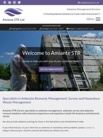 amiante str ltd Tablet